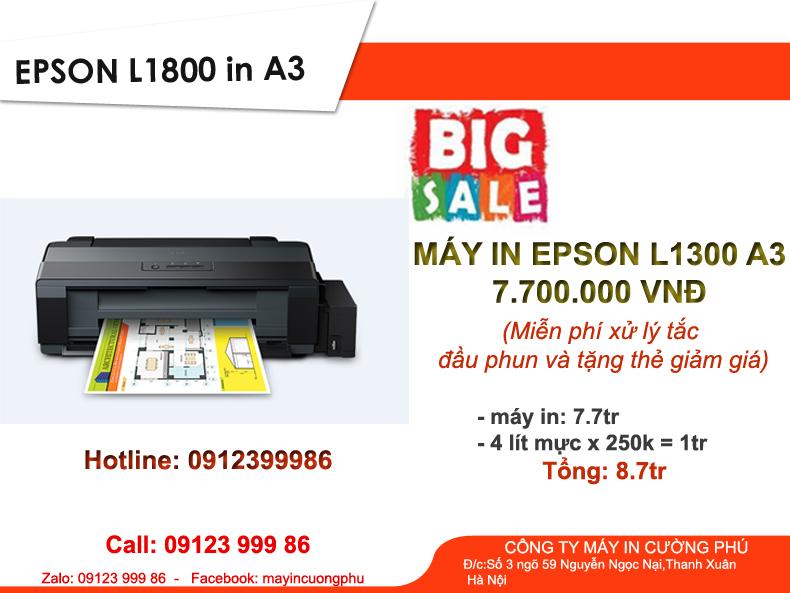 Máy in Epson L1300